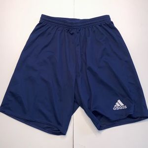 Adidas Unisex Navy Long Shorts